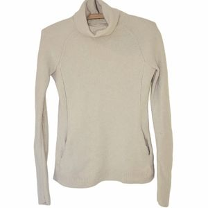 Cozy cashmere turtleneck sweater